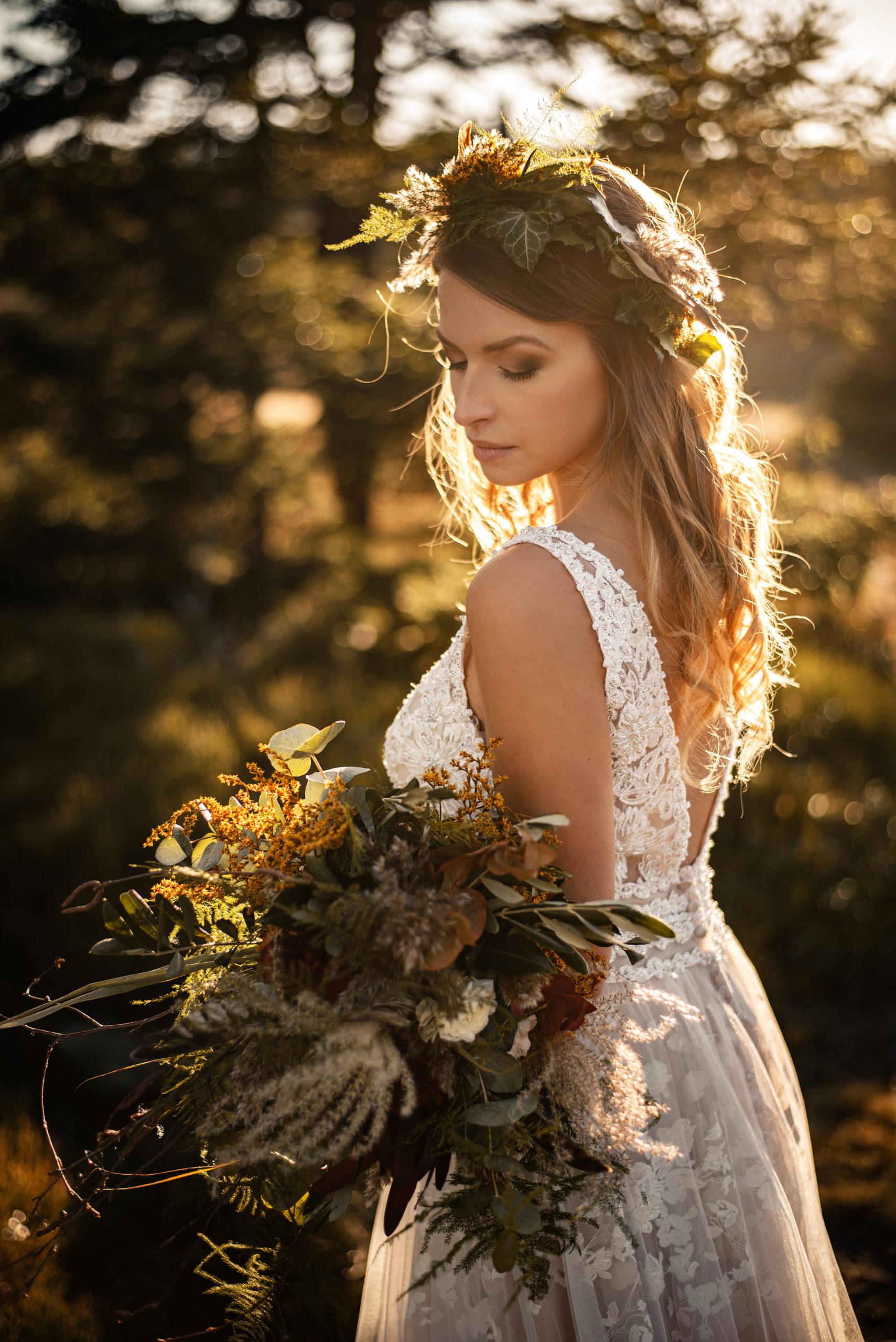 Svatební účes Kačka