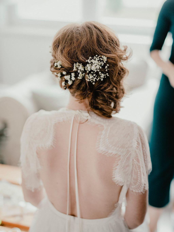 Svatební účes Evička